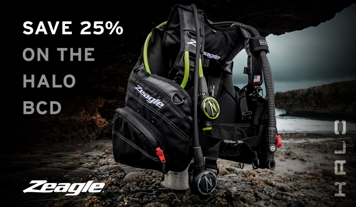 Save $190 on the Zeagle Halo