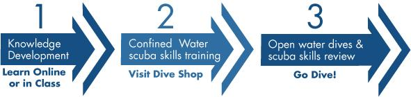Open Water Diver course flow