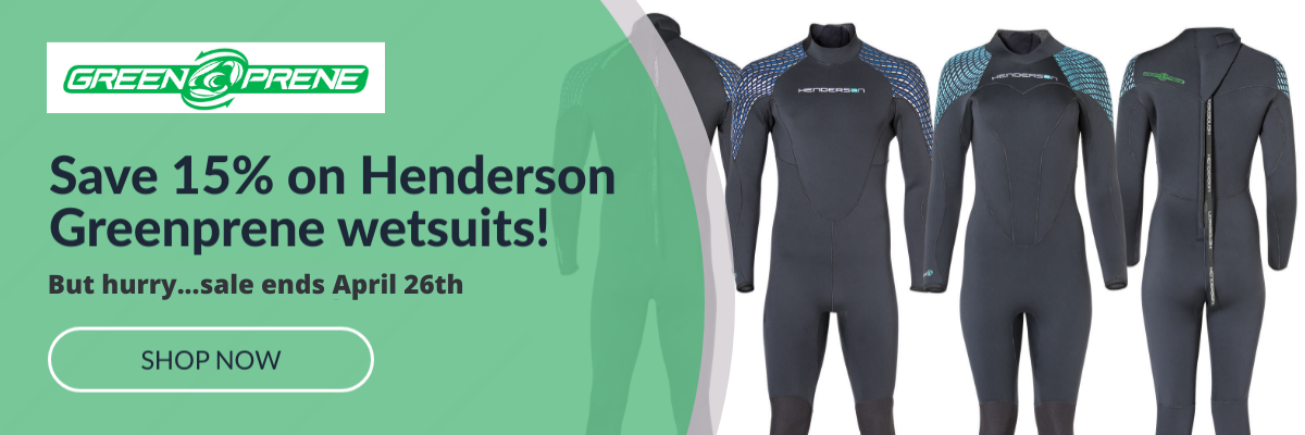Save 15% On Greenprene Wetsuits For Earth Day!